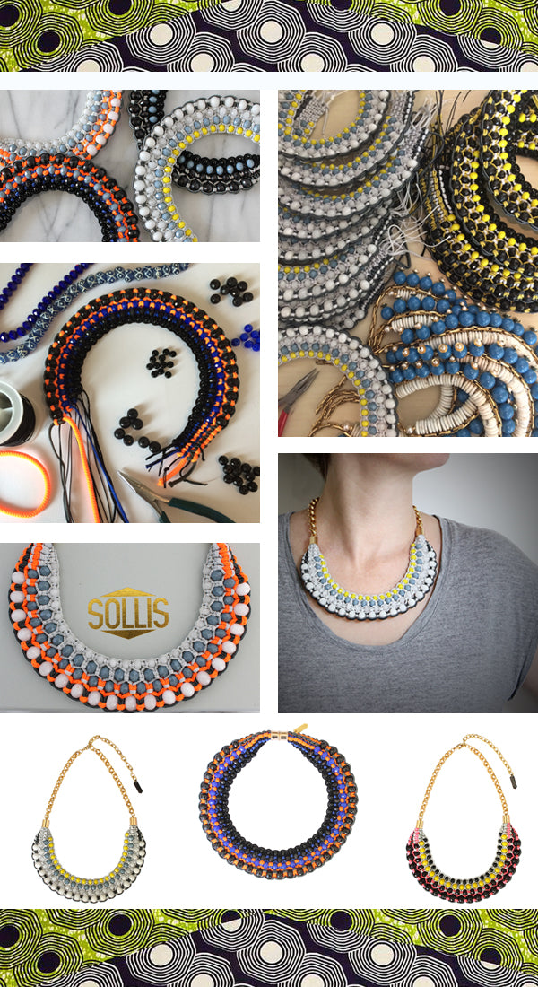 Hand-crafted jewellery by SOLLIS