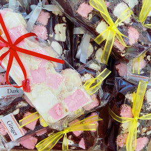 L'AMOUR Chocolate Rocky Roads (various flavours) CLICK TO CHOOSE FLAVOUR
