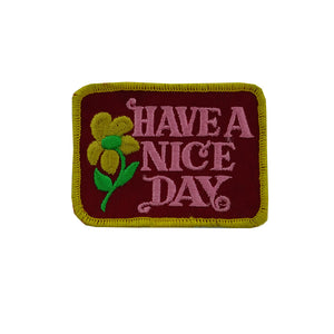 Have A Nice Day Patch