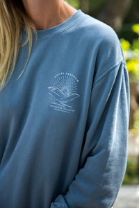 Sundown Sweatshirt - Local Freedom - Front Graphic