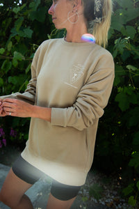 Sundown Sweatshirt - Wildflowers - Front Graphic
