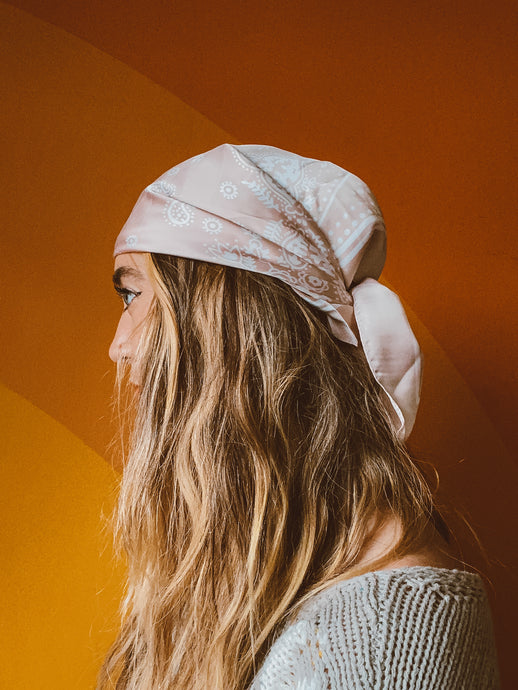 Desert dust hair scarf