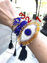 Load image into Gallery viewer, Evil eye bracelet-complete set -protec