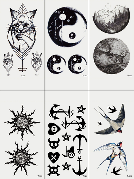 Semink-Tattoo Sticker-FOREKNOW - YIN YANG