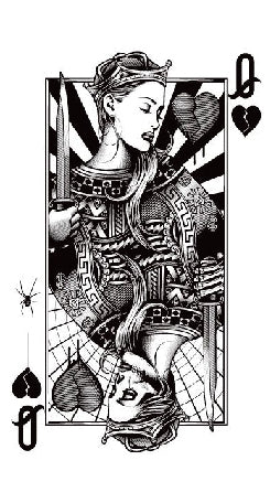 Semink-Tattoo Sticker-THE QUEEN