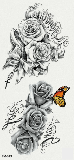 LA FAMILIA -flowers, bowknot and butterfly