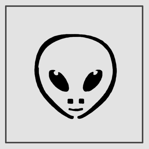 Semink-2 Week Temporary Tattoos-Alien