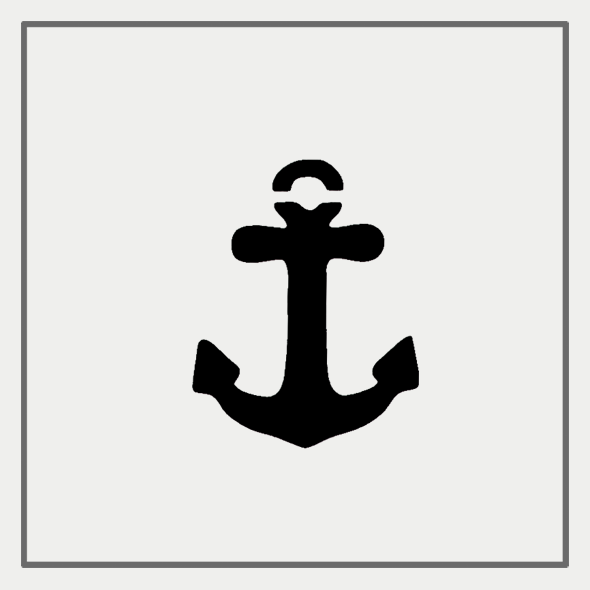 Semink-2 Week Temporary Tattoos-Anchor