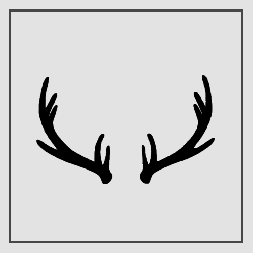 Semink-2 Week Temporary Tattoos-Antlers