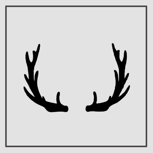 Semink-2 Week Temporary Tattoos-Antlers 2
