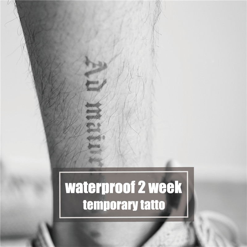 Semink-2 Week Temporary Tattoos-Au Maiora