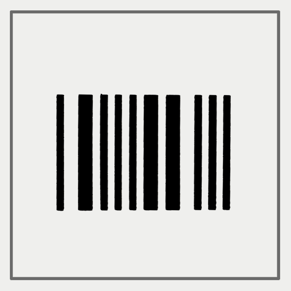 Semink-2 Week Temporary Tattoos-Bar Code