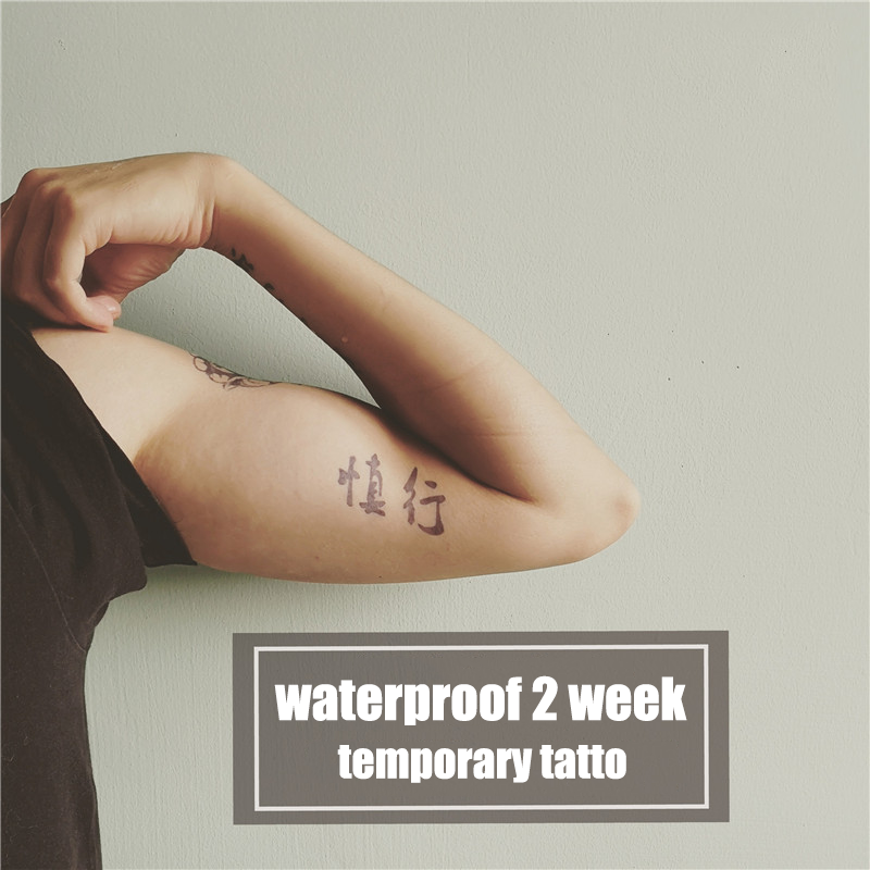 Semink-2 Week Temporary Tattoos-Cautious