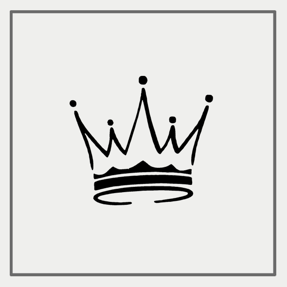 Semink-2 Week Temporary Tattoos-Crown