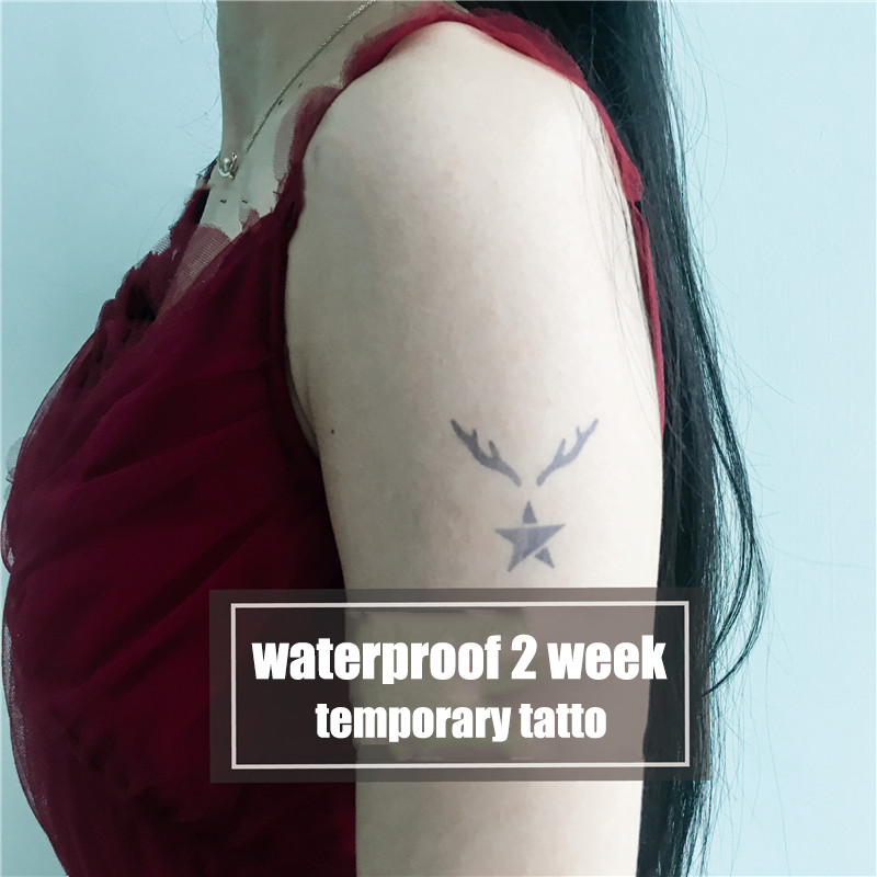 Semink-2 Week Temporary Tattoos-Deer & Star