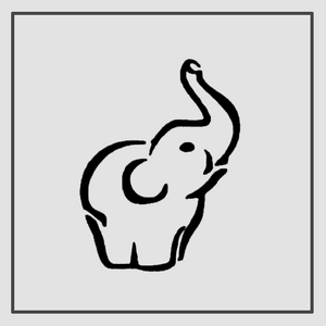 Semink-2 Week Temporary Tattoos-Elephant