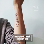 Semink-temporary tattoo stencil-Emoji
