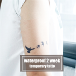 Semink-2 Week Temporary Tattoos-Flying Goose