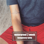 Semink-2 Week Temporary Tattoos-Geometric Pattern