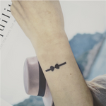 Semink-2 Week Temporary Tattoos-Heart Arrow