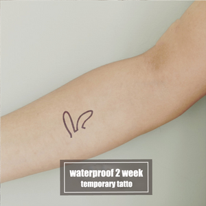 Semink-2 Week Temporary Tattoos-Rabit Ears