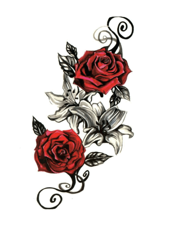 Semink--Fancy Friday - Red Rose-I