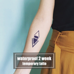 Semink-2 Week Temporary Tattoos-Simple Geometric