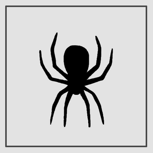Semink-2 Week Temporary Tattoos-Spider