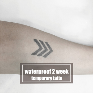 Semink-2 Week Temporary Tattoos-Three Arrows
