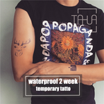 Semink-2 Week Temporary Tattoos-Wapiti