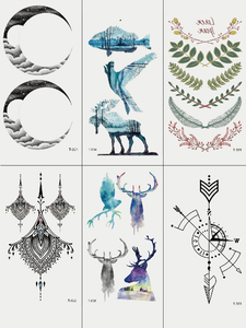 Semink-Tattoo Sticker-Expecto Patronum - Stags