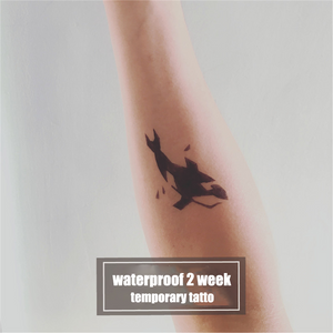 Semink-2 Week Temporary Tattoos-Whale