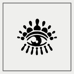 Semink-2 Week Temporary Tattoos-Eye of God