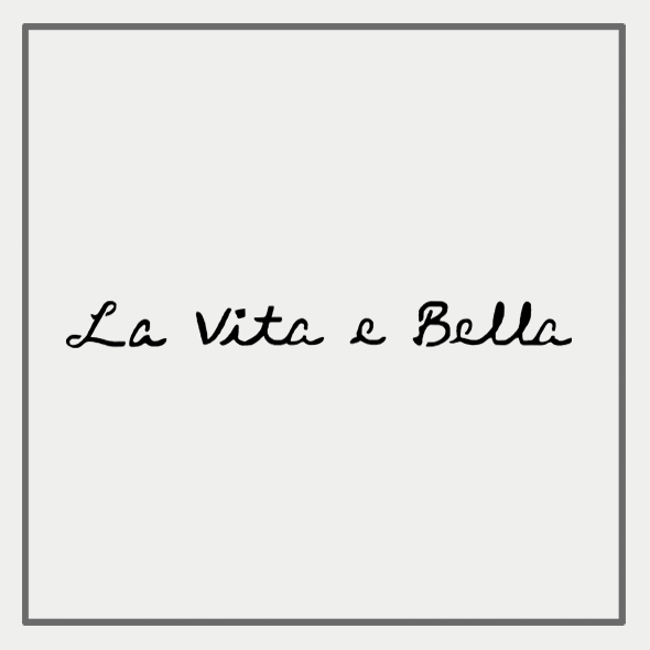 Semink-2 Week Temporary Tattoos-La vita e Bella