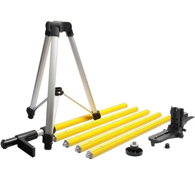 Huepar 12 Ft./3.7m Lasers Level Adapter Tripod LP36