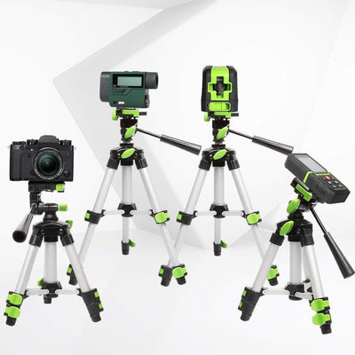 Huepar Aluminum Portable Adjustable Tripod for Laser Level Camera TPD05