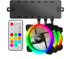Load image into Gallery viewer, Cooling Dragon 120mm LED Fans with IR Remote and Controller