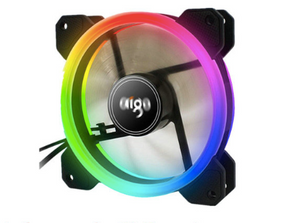 Cooling Dragon 120mm LED Fans with IR Remote and Controller