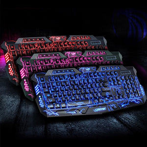 Gaming Keyboard and Mouse Combo Pack