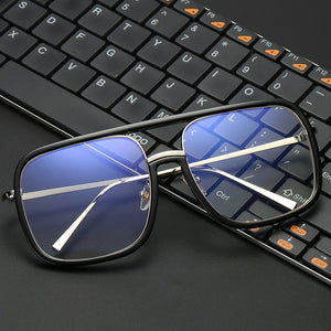 BluVoid Flat Top Square Computer Glasses