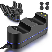 Load image into Gallery viewer, PS4 Dual Controller Dock
