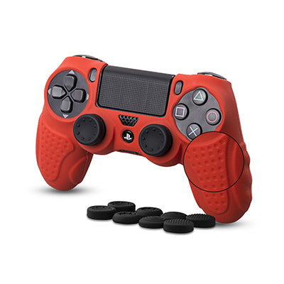 Silicone Super Grip Case for PS4 Controller