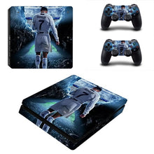 Load image into Gallery viewer, PS4 SLIM + Controller Skins - Juventus FC/Cristiano Ronaldo