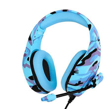 Load image into Gallery viewer, Camo Gaming Headset