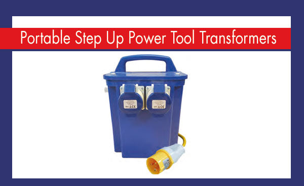 Portable Step Up Power Tool Transformers