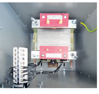 Single Phase Railway Signalling Transformer for indoor use