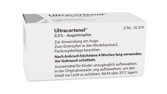 ULTRACORTENOL - AUGENTROPFEN | ULTRACORTENOL - EYE DROP