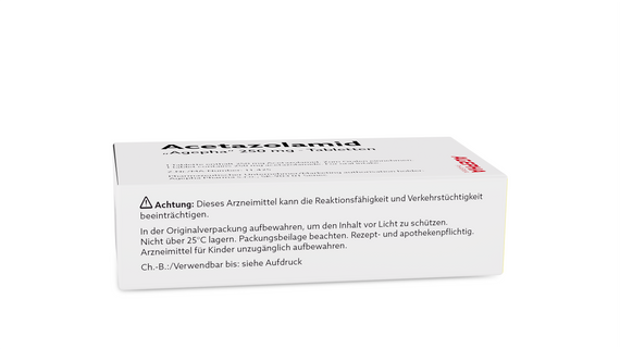 Acetazolamid Tabletten