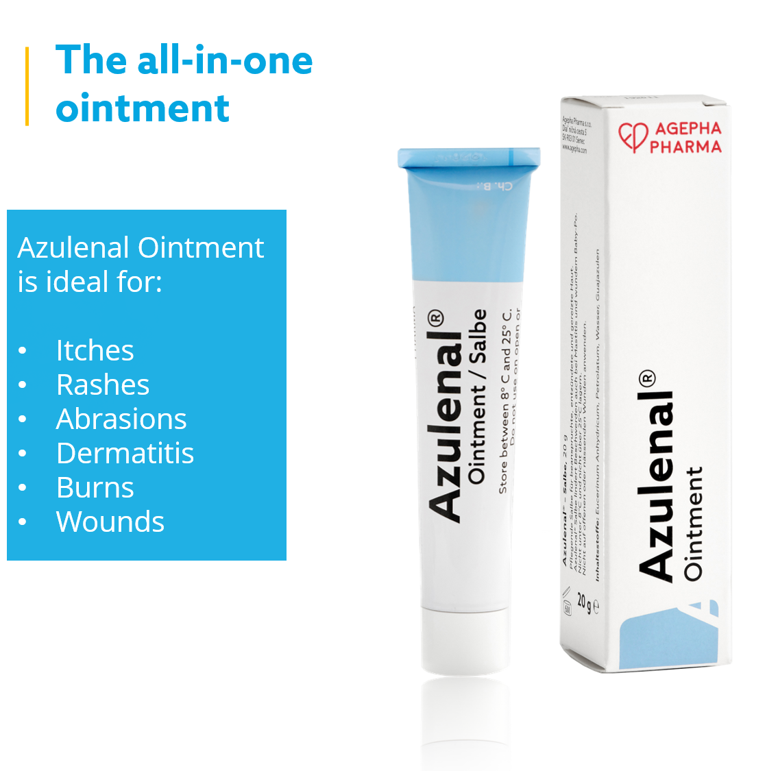 AZULENAL® SALBE 3ER PACK | AZULENAL® OINTMENT PACK OF 3
