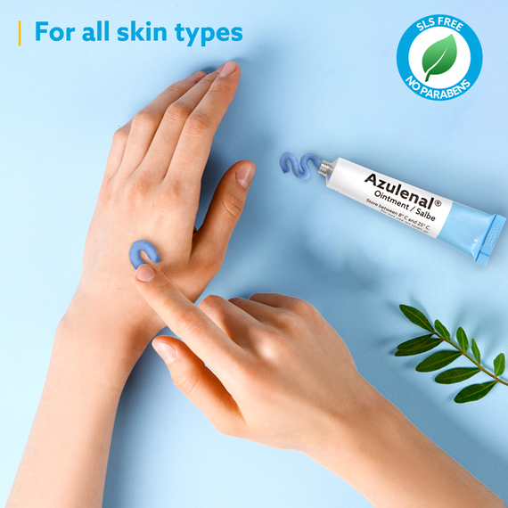 Azulenal Ointment with Guaiazulene for Eczema
